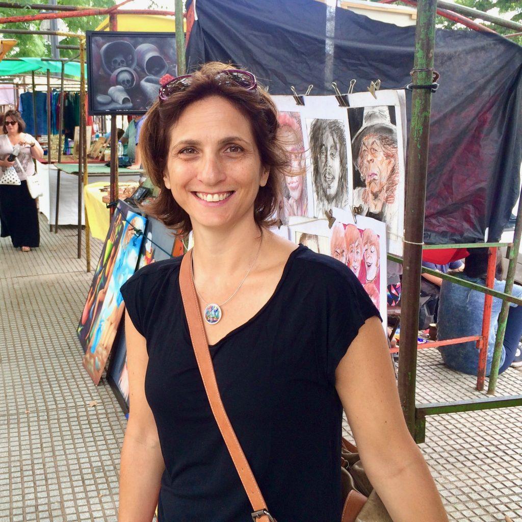 השוק בשכונת ריקולטה, בואנוס איירס