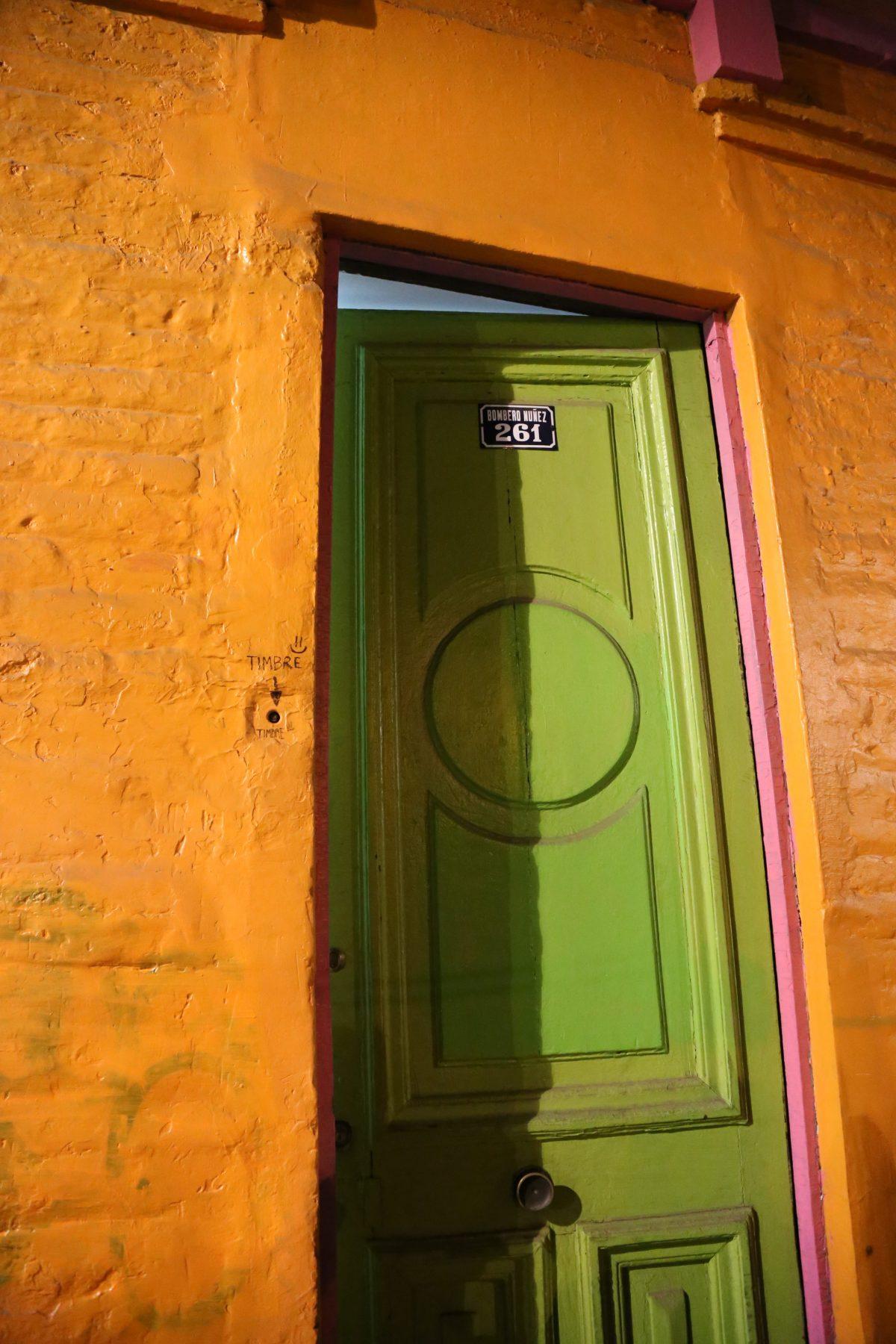 דלת הכניסה לבית הספר לבישול