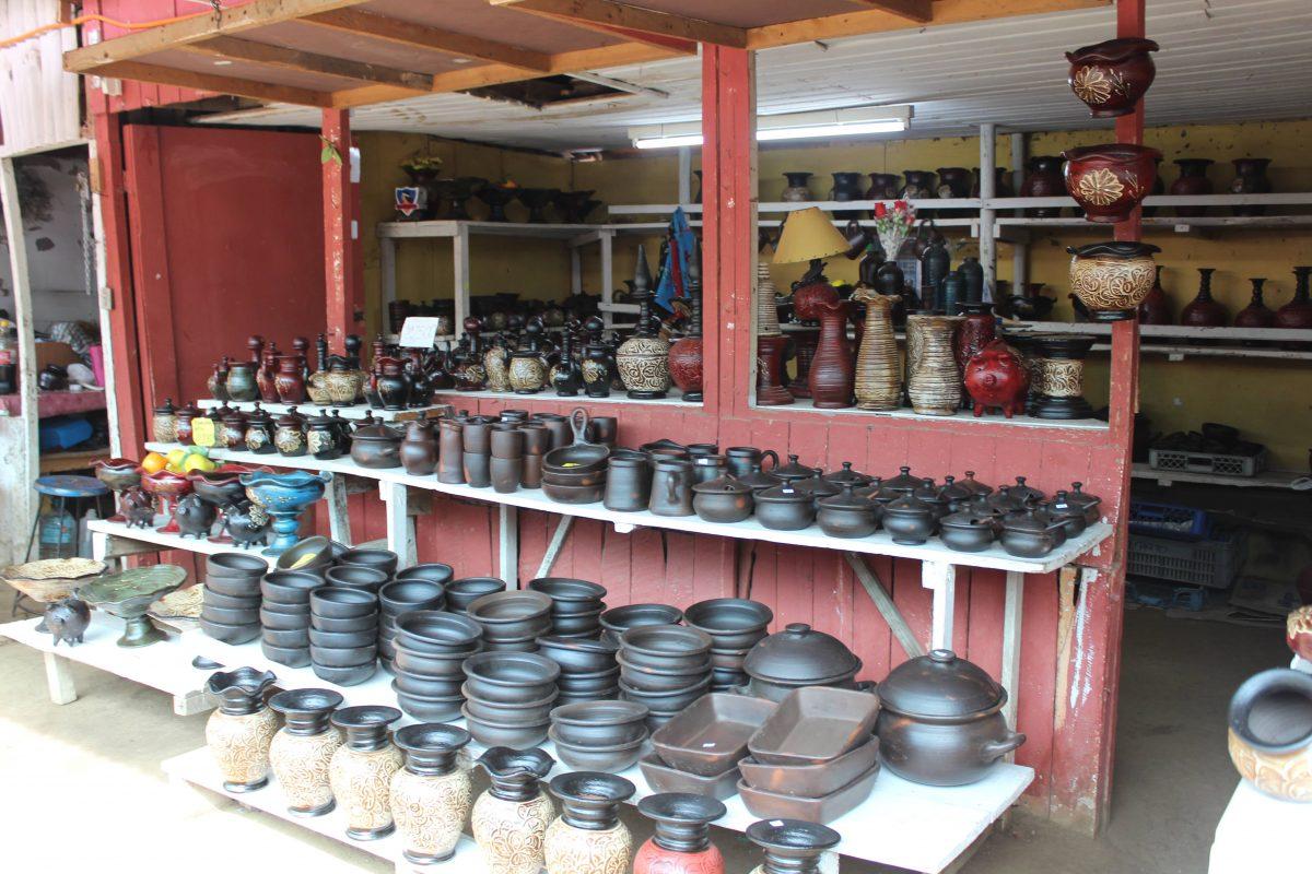 פומיירה - כפר של כלים מקרמיקה יחודית לצ׳ילה