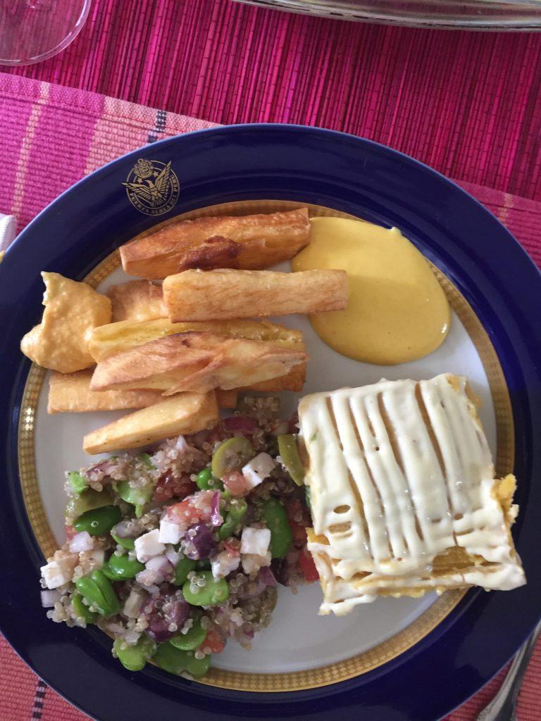 ארוחה פרואנית קלאסית