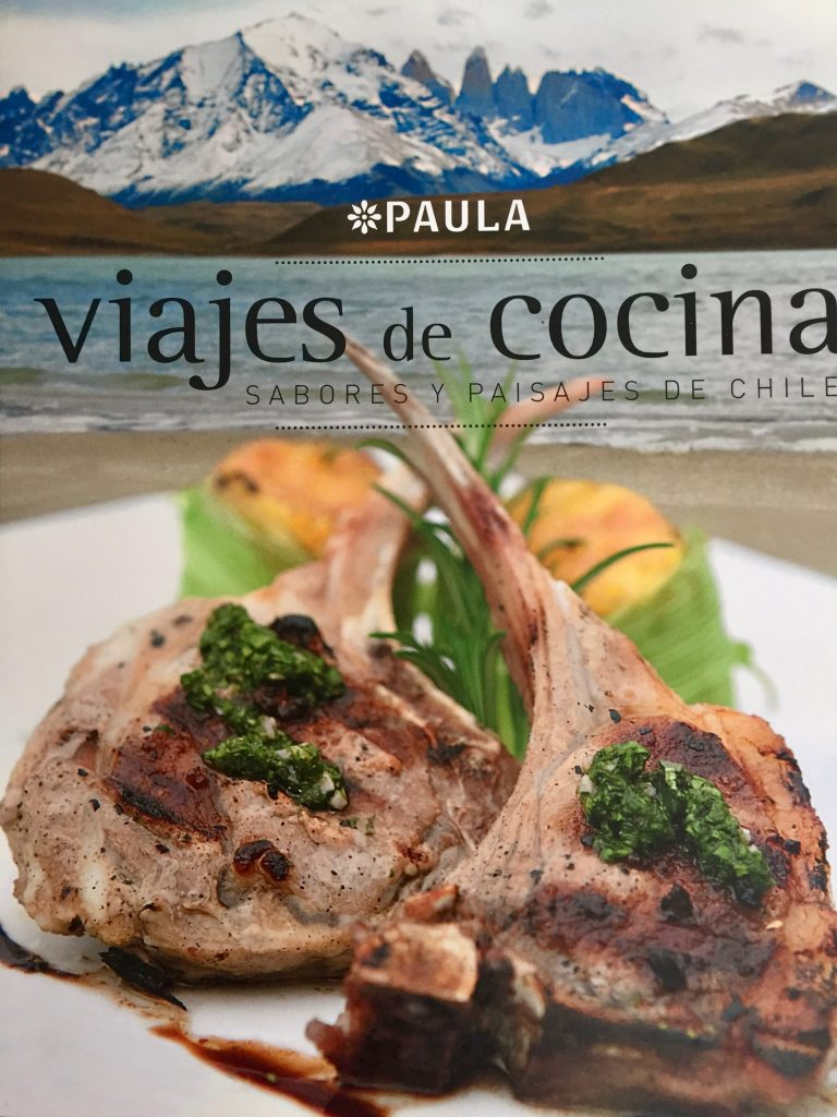 ספר בישול צ׳ילאני שבו המתכון לאלפחורס
