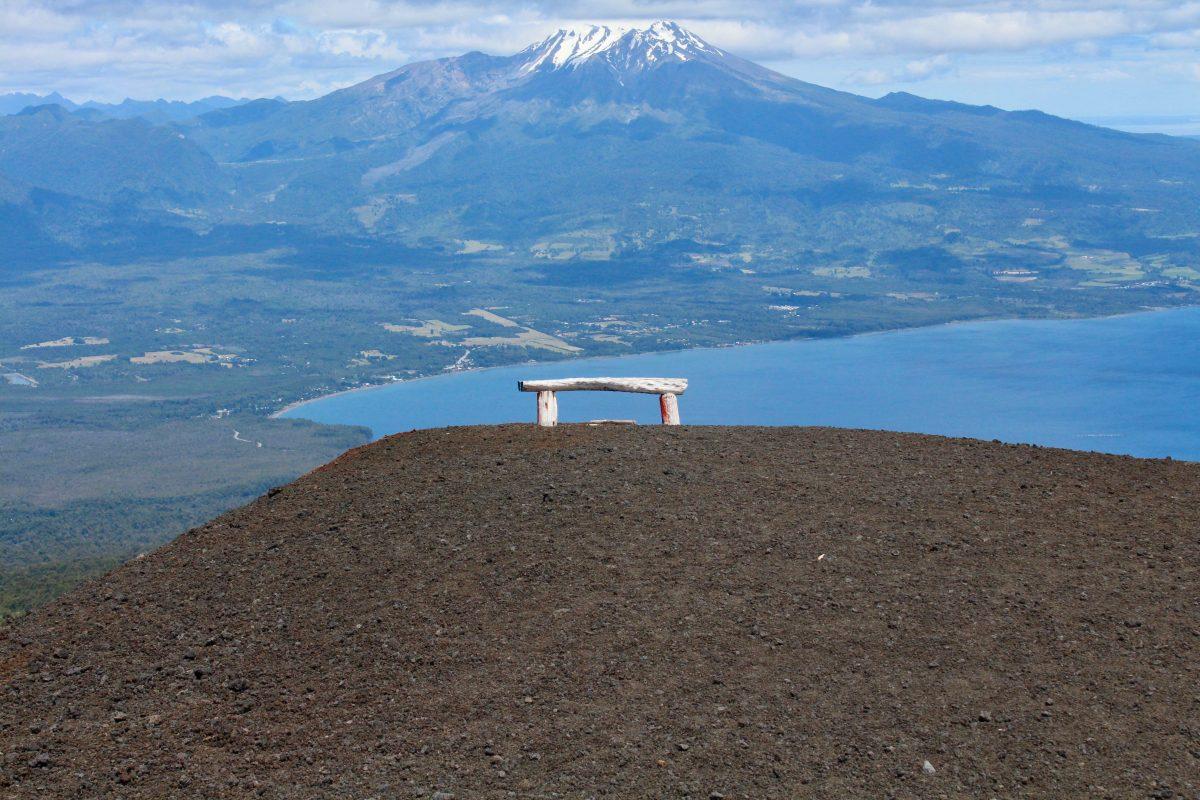 הנוף הנשקף מהר הגעש