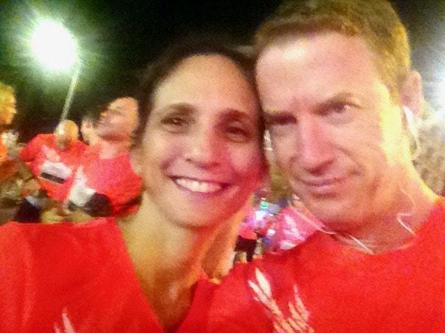 במירוץ הלילה של נייק בתל אביב