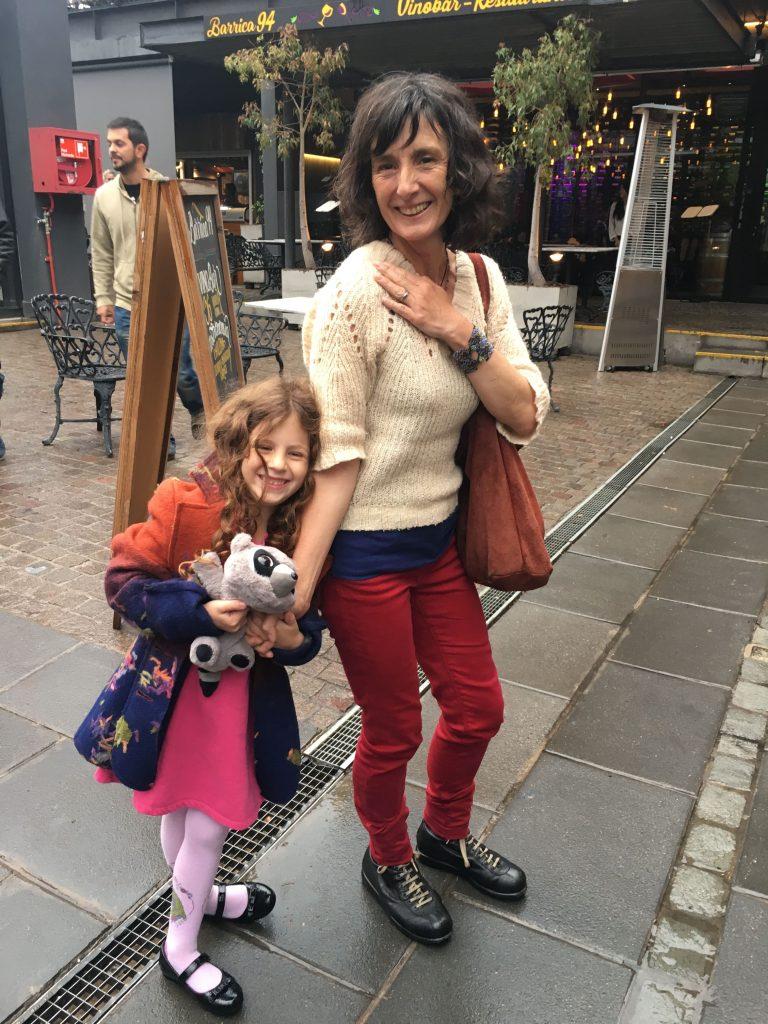 עם חברתי הטובה סול, שהכרנו בלונדון