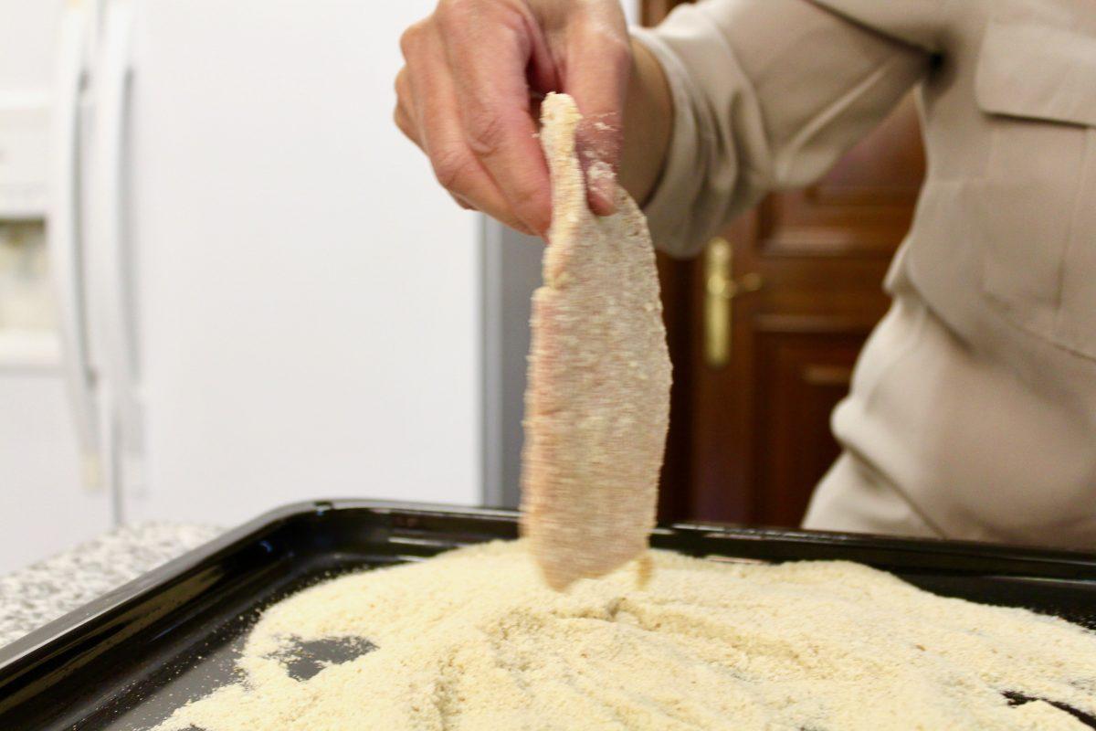 השניצל בקר ארגנטינאי מוכן לאפיה