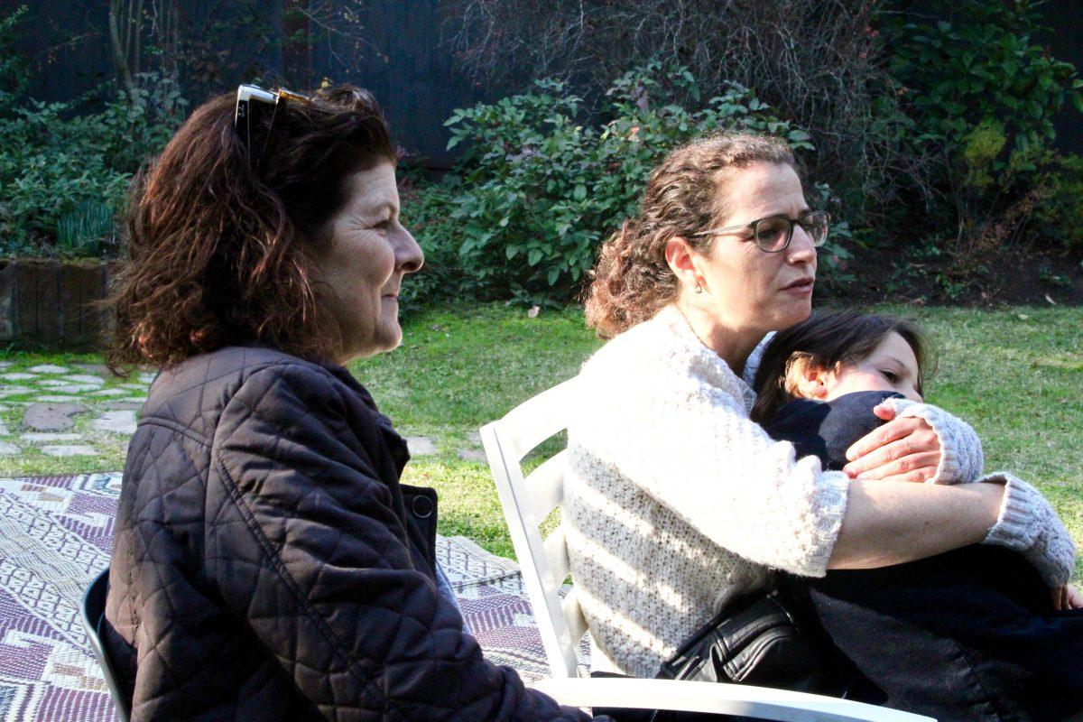 דורית ואיילת עם אבשלום