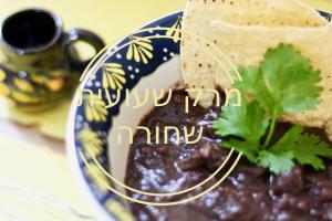 מרק שעועית שחורה