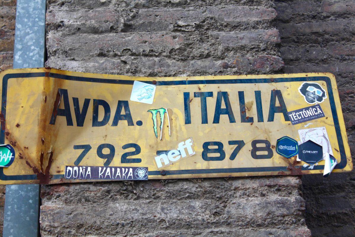 רחוב איטליה בסנטיאגו