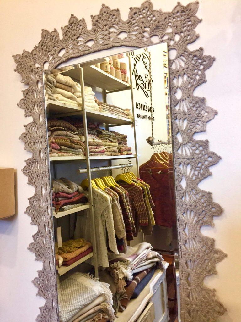 חנות יפה לבגדים מצמר
