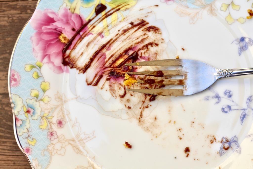 פירורי עוגת גזר ברזילאית