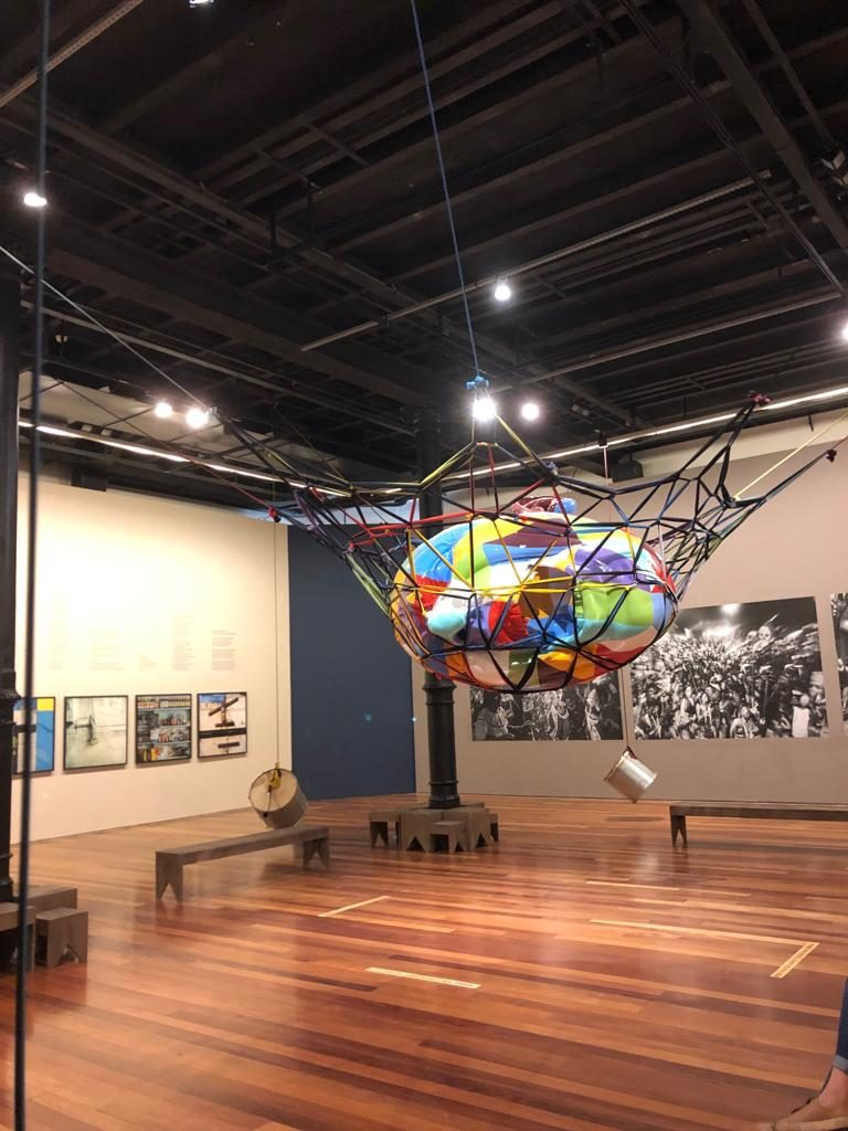 אחד מהחדרים בתערוכה
