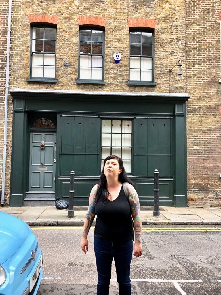 סיור אוכל בלונדון, ג׳סיקה המדריכה
