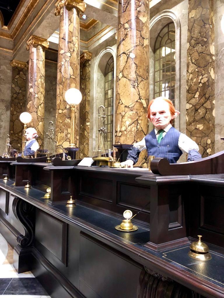 הגובלינים באולפנים של הארי פוטר, טיול בר מצווה ללונדון