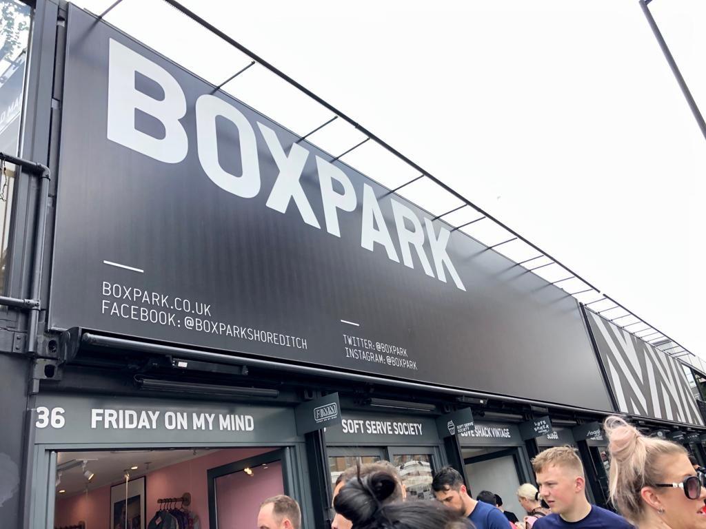 סיור אוכל בלונדון, box park