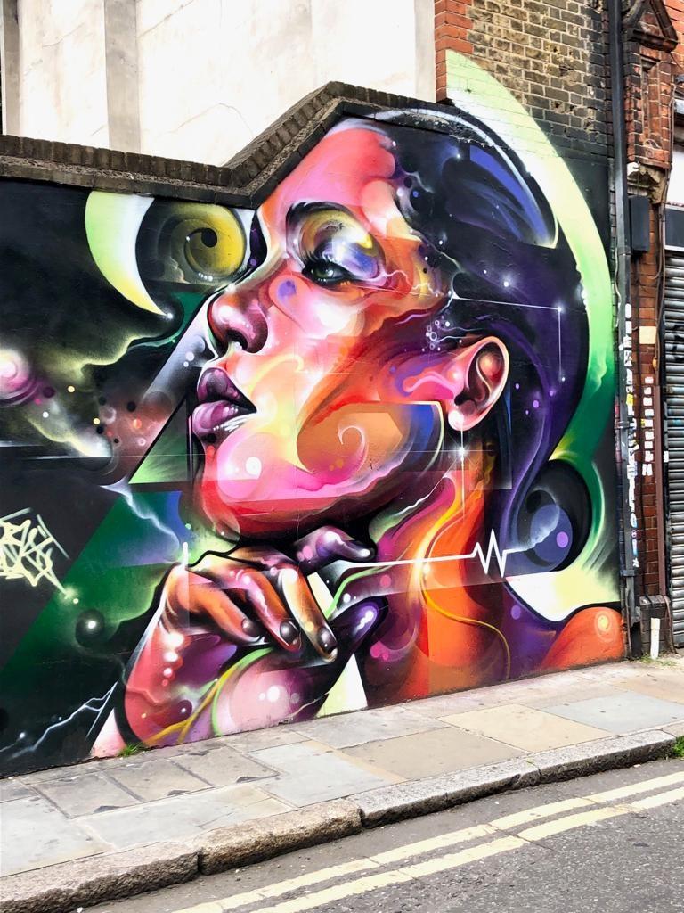 ציור רחוב בטכניקה מיוחדת