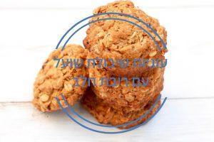 עוגיות שיבולת שועל עם ריבת חלב