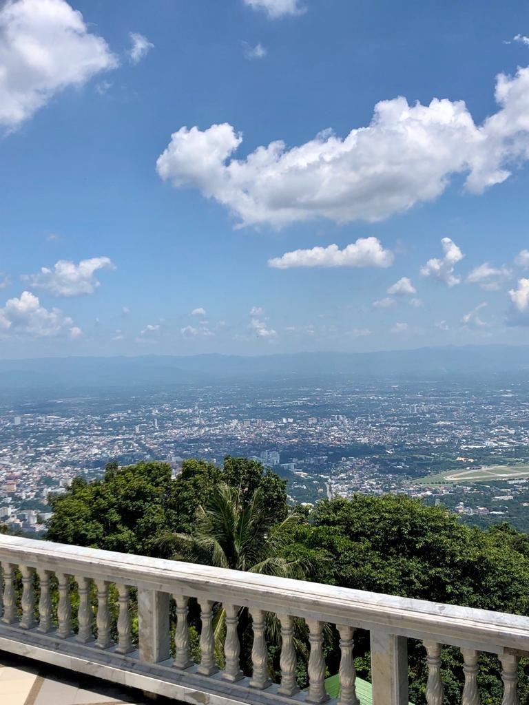 הנוף של צ'אנג מאי מדוי סטופ, צ'אנג מאי