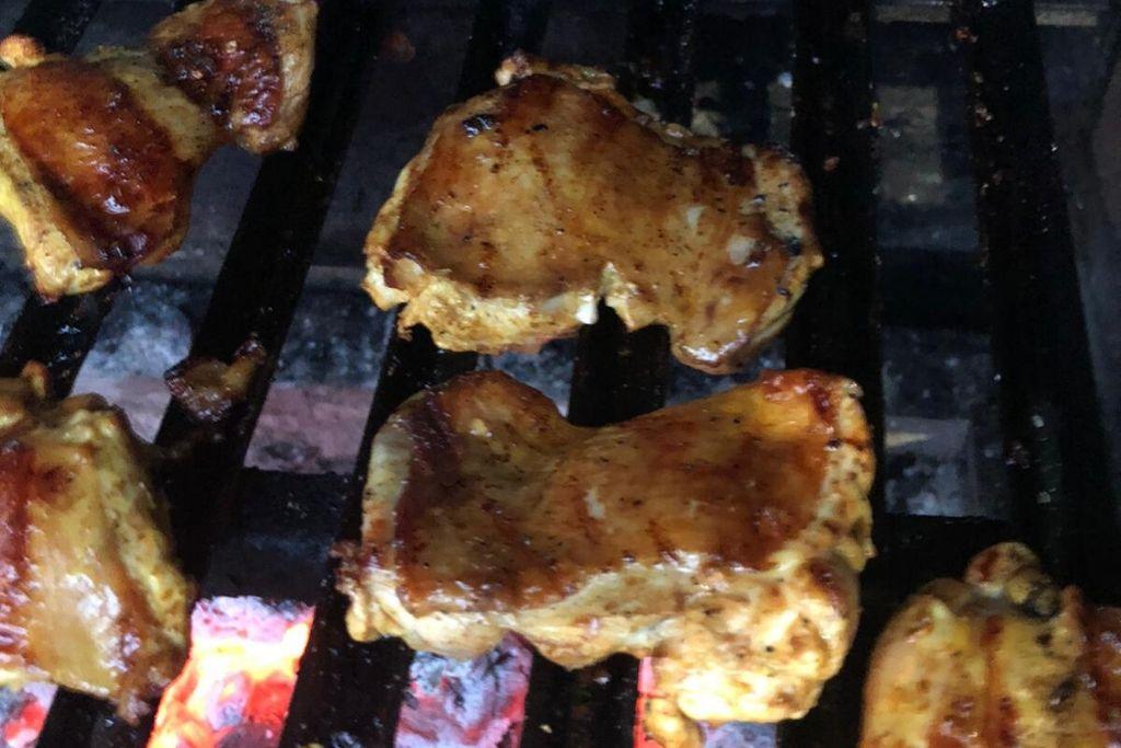 פרגיות במרינדה פרואנית על האש