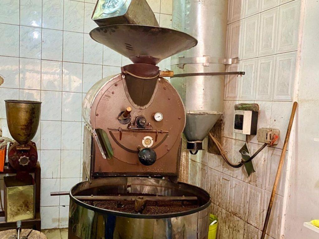 מכונת קליית קפה