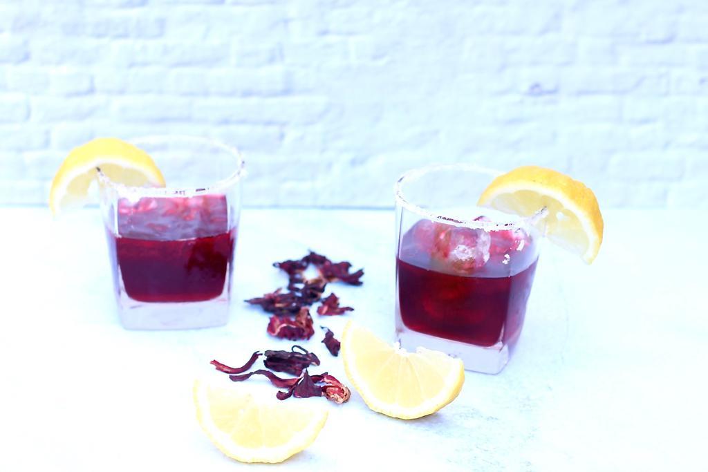 מרגריטה היביסקוס, שני משקאות היביסקוס מפתיעים
