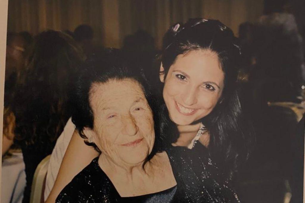 סבתא ויקטוריה ואני