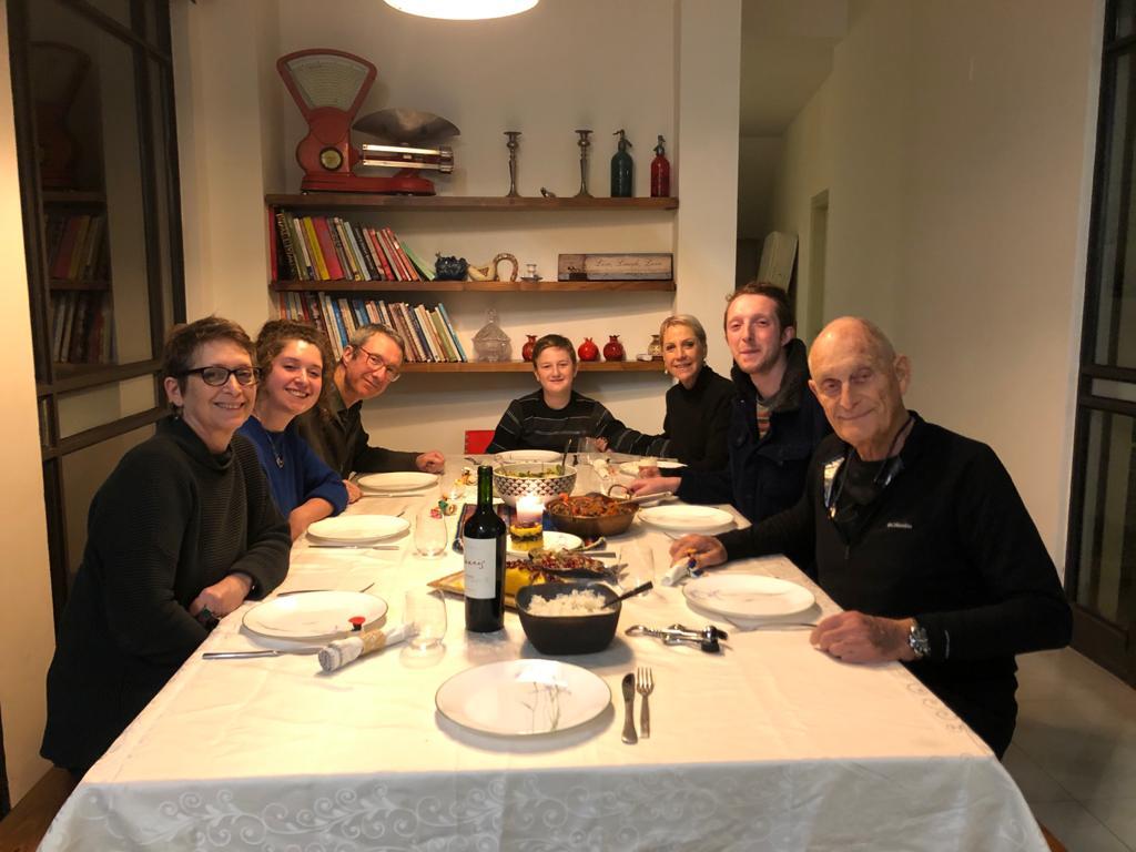 סדנה משפחתית באנגלית, ביום הראשון של 2020